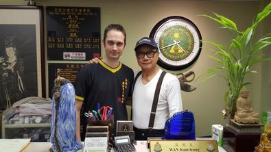With Wan Sifu in 2016