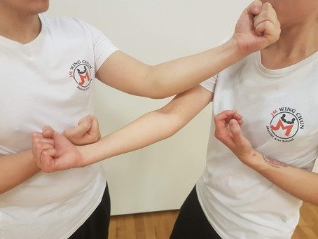 Backward Moves in Practical Wing Chun