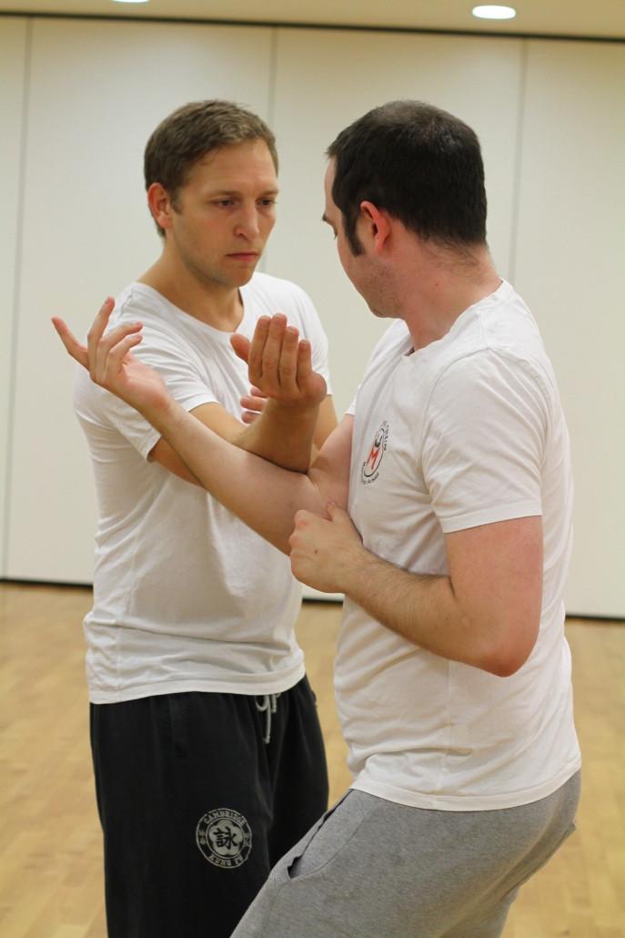 Sifu James teaching - Wing Chun London