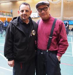 Sifu Andrew Sofos with Wan Sifu