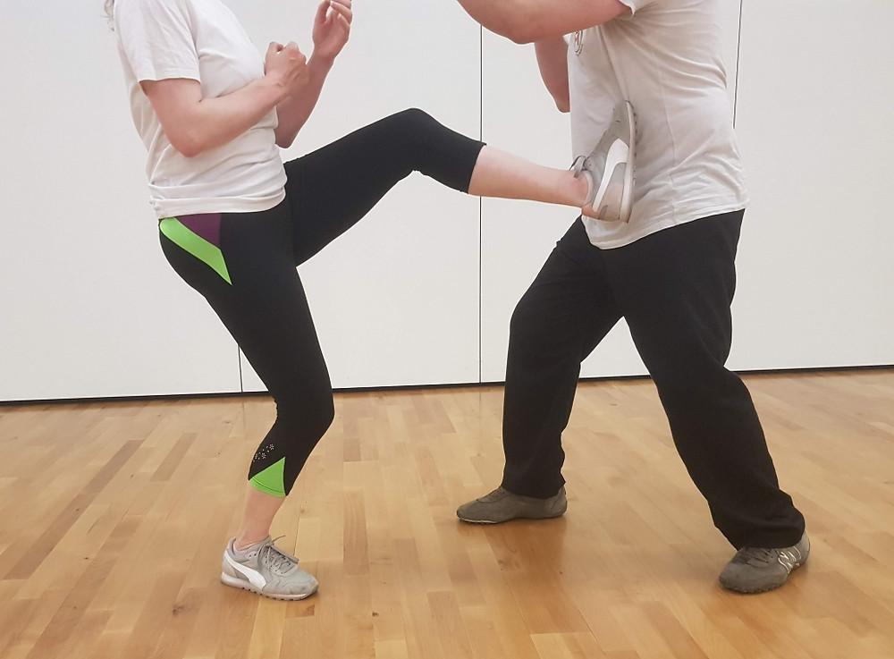 Wing Chun London Twisting Kick