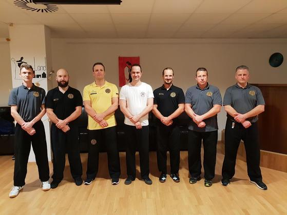 With Sifu Markus Hargesheimer and Instructors