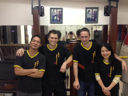 With other instructors