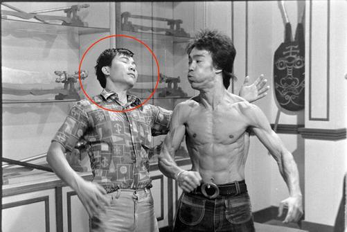 Wan Sifu with Bruce Lee