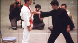 Bruce Lee Punches Karate Grandmaster With The 1 Inch Punch! (New ...
