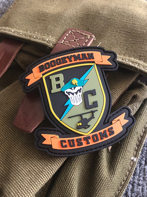 PVC Boogey Badges