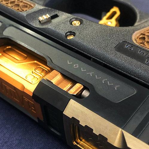 Titanium Extended Slide Lock : Gen 1-5
