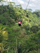 Giant Swing above the Balinese jungle