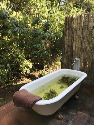 Herbal Bath at Sen Wellness Sanctuary