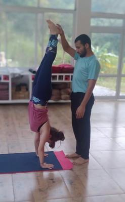 Handstand Practice
