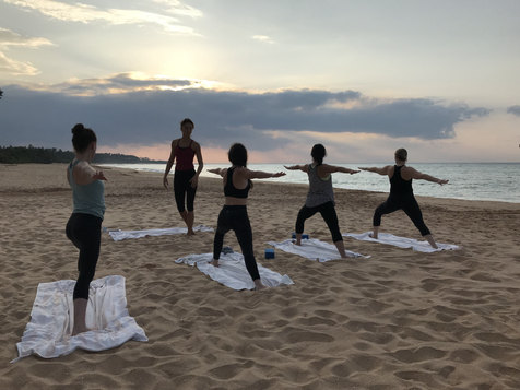 Sunrise Yoga on the Beach