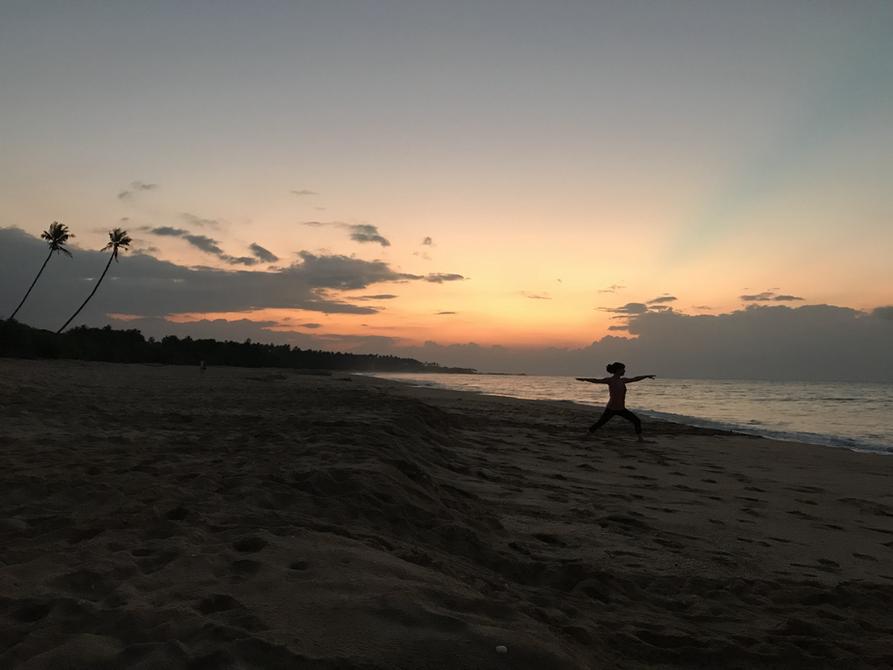 Sunrise Yoga on the beach