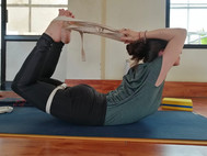 Bow Pose with Props