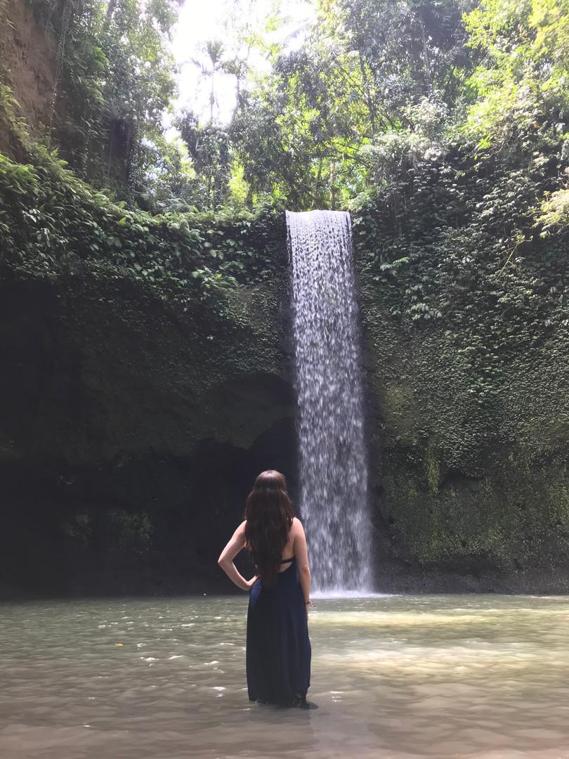 One of Bali's many beautiful waterfalls