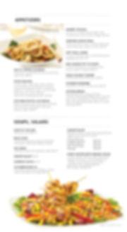 Appetizers | Soups, Salads Menu