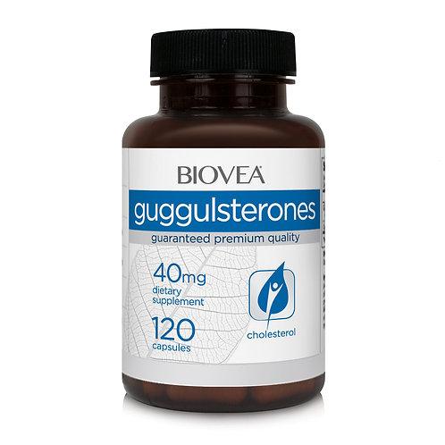 GUGGULSTERONES 40mg 120 Vegetarian Capsules