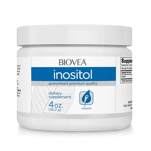 INOSITOL 600mg (4oz) 113.4g