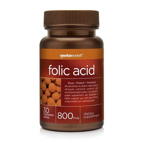 FOLIC ACID 800mcg 30 Tablets