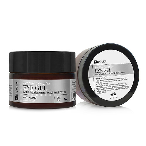 PEPTIDE COMPLEX EYE GEL (Organic) (1oz) 30ml