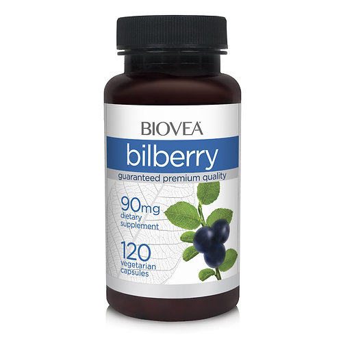BILBERRY 90mg 120 Vegetarian Capsules