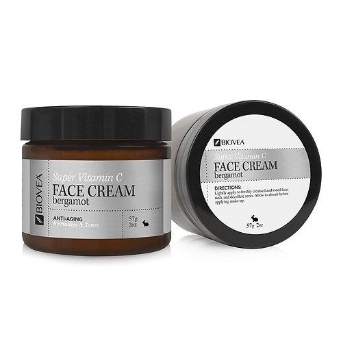 SUPER VITAMIN C CREAM (Organic) (2oz) 60ml