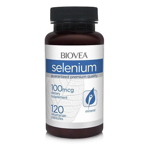 SELENIUM 100mcg 120 Vegetarian Capsules