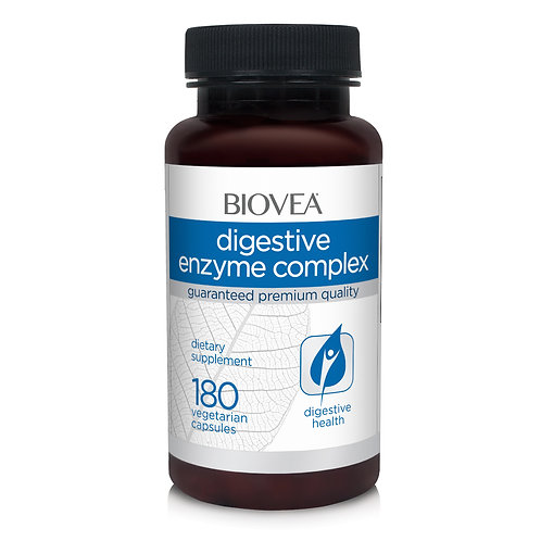 DIGESTIVE ENZYME COMPLEX 180 Vegetarian Capsules