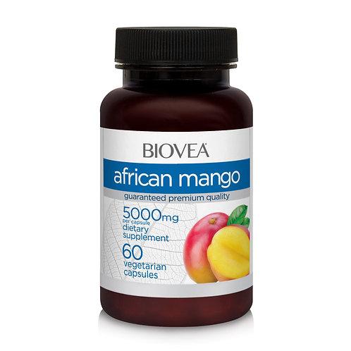 AFRICAN MANGO 5000mg (10:1 500mg) 60 Vegetarian Capsules