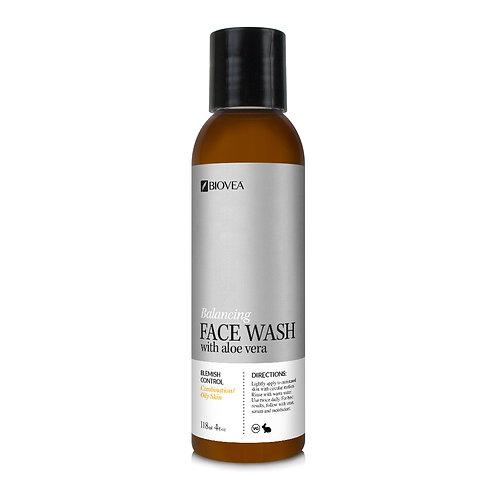 BALANCING ALOE FACE WASH (Organic) (4oz) 118ml