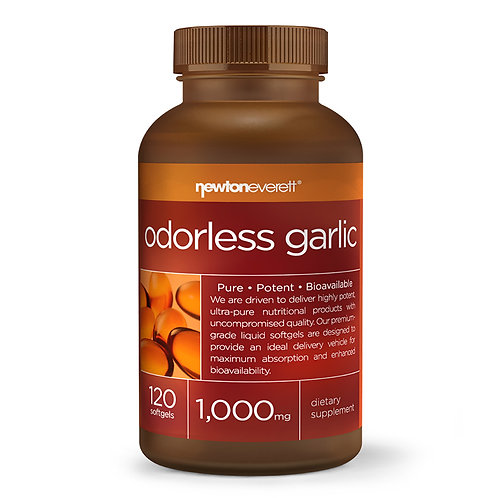 ODORLESS GARLIC 1000mg 120 Softgels