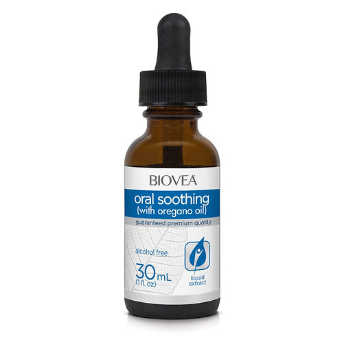 ORAL SOOTHING (with Oregano Oil) (Alcohol Free) (1oz) 30ml