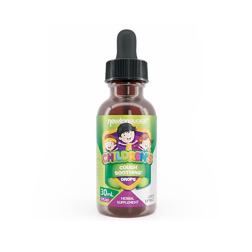CHILDREN'S COUGH SOOTHING LIQUID DROPS (Alcohol Free) (1 fl oz) 30ml