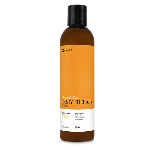 ARGAN AND ALOE THERAPY BODY LOTION (Organic - Patchouli) (8oz) 236.5ml