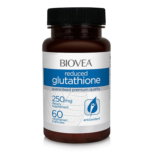 REDUCED GLUTATHIONE 250mg 60 Vegetarian Capsules