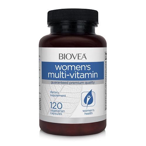 WOMEN'S MULTI-VITAMIN 120 Vegetarian Capsules