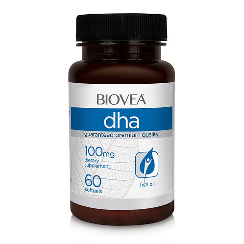 DHA 100mg 60 Softgels