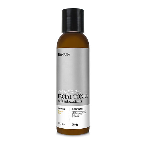 POST-EXFOLIATION FACIAL TONER (Organic) (4oz) 118ml