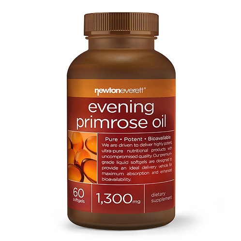 EVENING PRIMROSE OIL 1300mg 60 Softgels