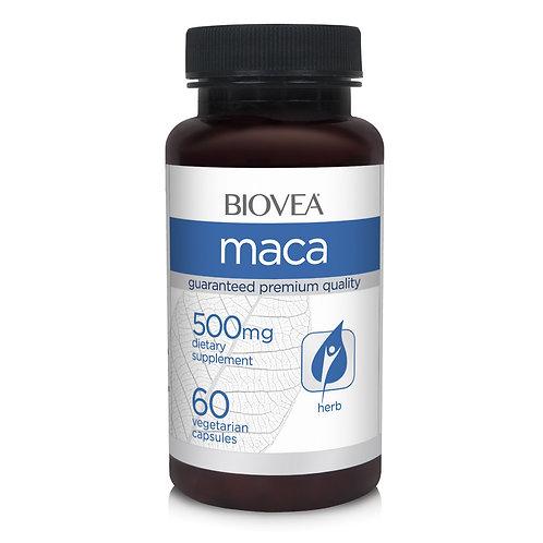 MACA (Organic) 500mg 60 Vegetarian Capsules