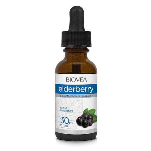 ELDERBERRY LIQUID DROPS (1oz) 30ml