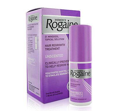 ROGAINE (REGAINE) MINOXIDIL 2% TRAITEMENT POUR LA REPOUSSE DES CHEVEUX Pour Femm