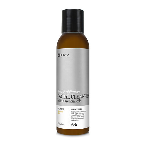 POST-EXFOLIATION FACIAL CLEANSER (Organic) (4oz) 118ml