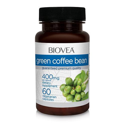GREEN COFFEE BEAN 400mg 60 Vegetarian Capsules