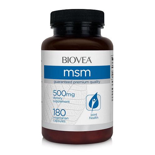 MSM 500mg 180 Vegetarian Capsules