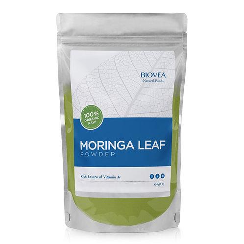 MORINGA LEAF POWDER (Raw - Organic) (16oz) 454g