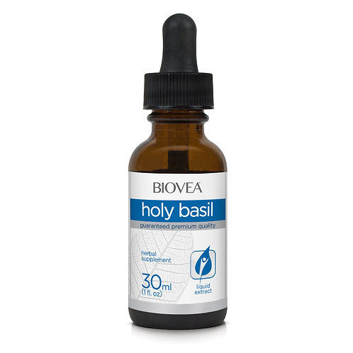 HOLY BASIL LIQUID DROPS (1oz) 30ml