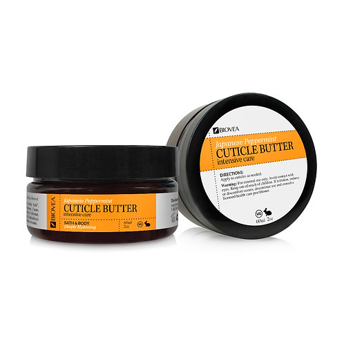 INTENSIVE CARE CUTICLE BUTTER (Organic) (2oz) 60ml