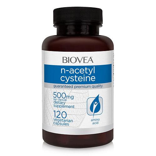 N-ACETYL CYSTEINE 1000mg 120 Vegetarian Capsules