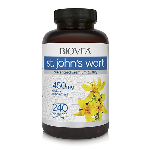 ST. JOHN'S WORT 450mg 240 Vegetarian Capsules