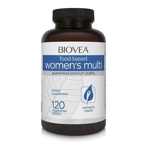 WOMEN'S MULTIVITAMIN (FOOD BASED) 120 Tablets